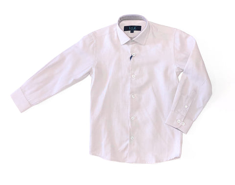 Fog Grey L/S Dress Shirt