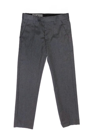 Grey Slim Fit Dress Pant