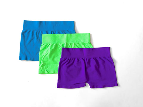 Solid Boy Shorts 7-14