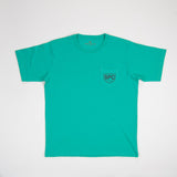 Jade Pocket Tee With Golf Dog