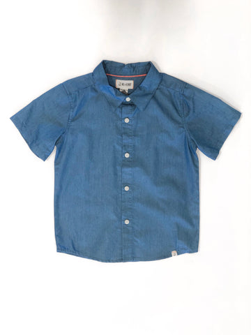 Woven Cotton Shirt Chambray