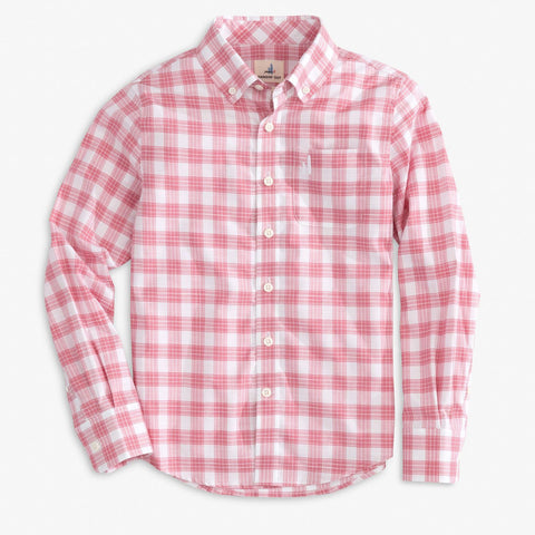 Strawberry London Button Down