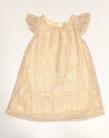 Lace Dress Gold