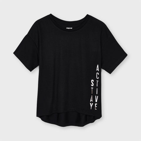 Black Play Time Tee