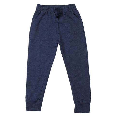 Navy Faded Fleece Pants