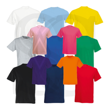 Load image into Gallery viewer, Plain Mens Unisex T-Shirts Tees Tops