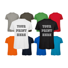 Load image into Gallery viewer, Personalise Your Own Tees Unisex Women Men T-Shirts Tops