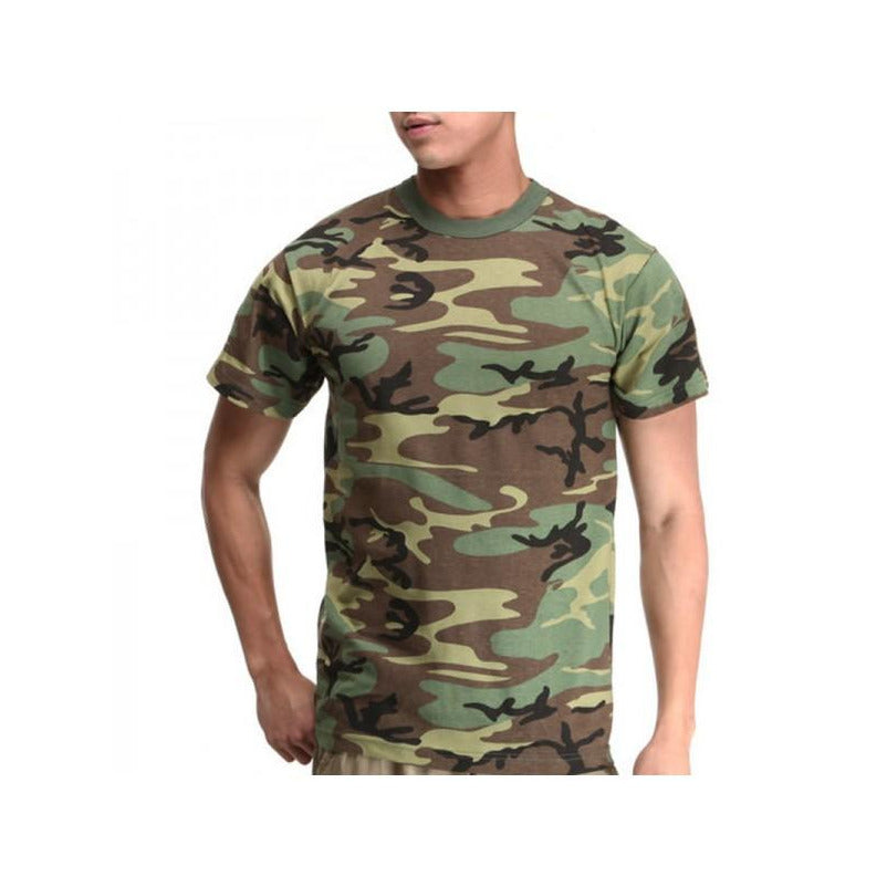 ARMY CAMOUFLAGE SOFT COTTON T-SHIRT