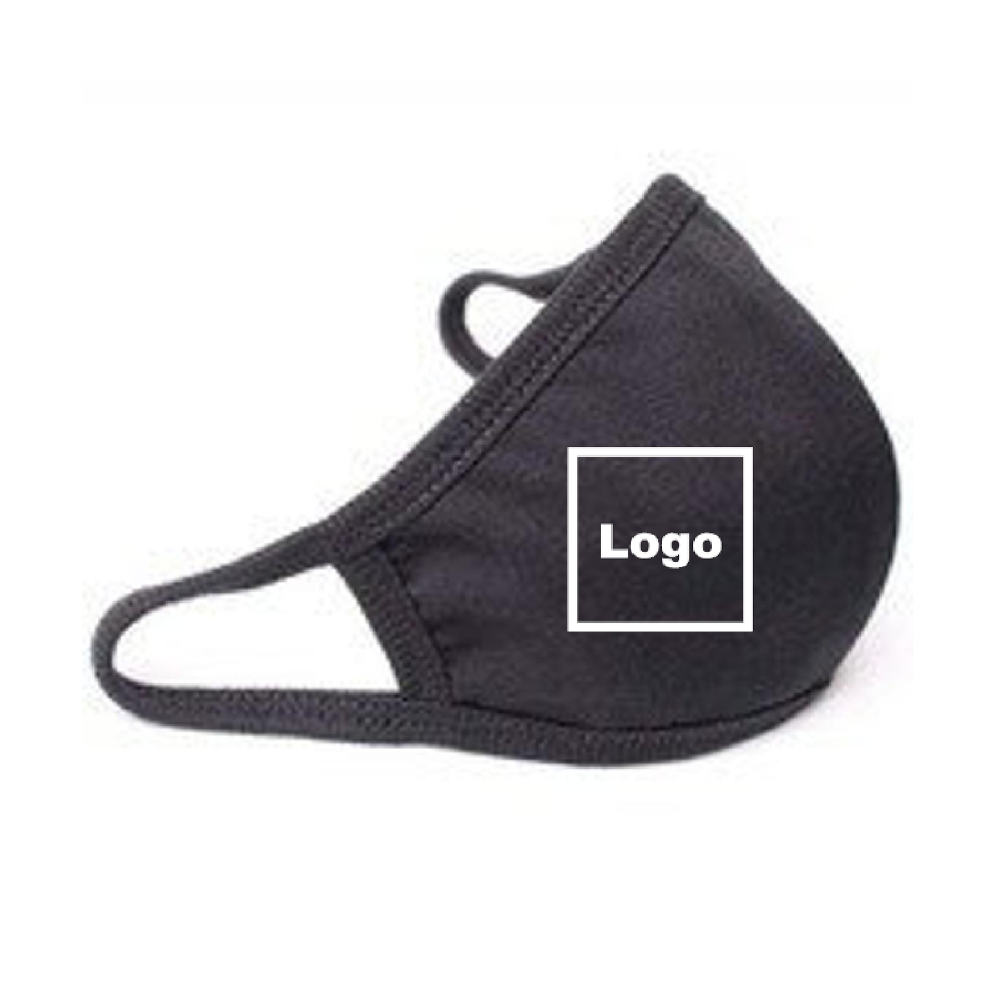 Custom Printed Personalised Face Mask Logo / Any Text/Name / Reusable / Washable