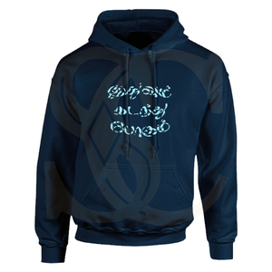 Open image in slideshow, Tamil Printed Pullover Hooded Sweatshirt Hoodie