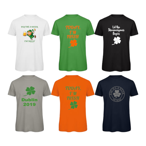 St Patrick's Day Irish Paddys Ireland Unisex T-Shirts Tees Tops