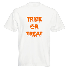 Load image into Gallery viewer, Trick or Treat Halloween Unisex T-Shirt