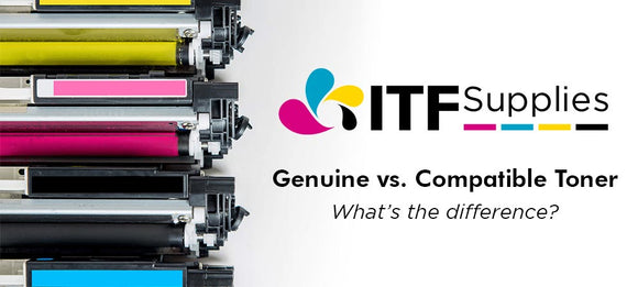 Genuine vs. Compatible Toner - What's the difference?