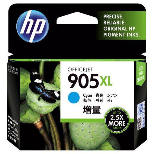 HP 905XL Cyan Ink Cartridge T6M05AA