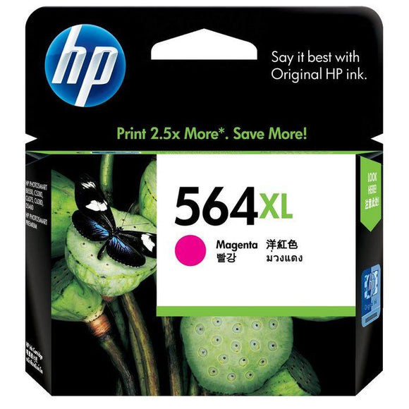 HP 564XL Magenta Ink Cartridge CB324WA