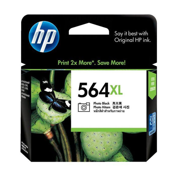 HP 564XL Photo Black Ink Cartridge CB322WA
