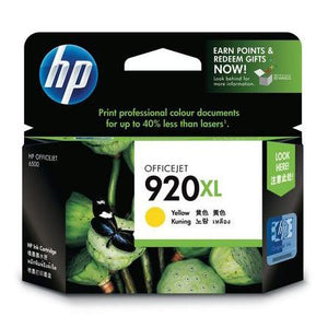 HP 920XL Yellow Ink Cartridge CD974AA