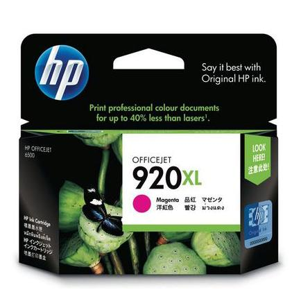 HP 920XL Magenta Ink Cartridge CD973AA
