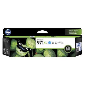 HP 971XL Cyan Ink Cartridge CN626AA