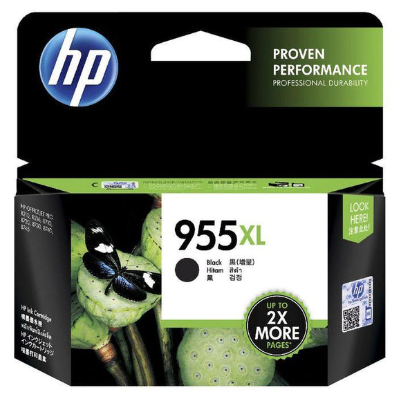 HP 955XL Black Ink Cartridge L0S72AA