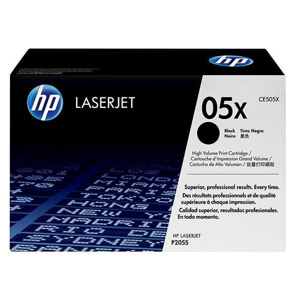 HP 05X Black Toner Cartridge CE505X