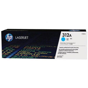 HP 312A Cyan Toner Cartridge CF381A