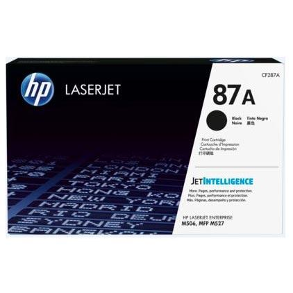 HP 87A Black Toner Cartridge CF287A