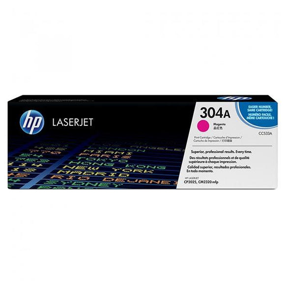 HP 304A Magenta Toner Cartridge CC533A