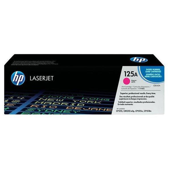 HP 125A Magenta Toner Cartridge CB543A