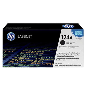 HP 124A Black Toner Cartridge Q6000A Q6000A at $144.91