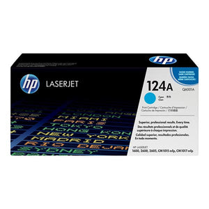 HP 124A Cyan Toner Cartridge Q6001A Q6001A at $157.44