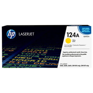 HP 124A Yellow Toner Cartridge Q6002A Q6002A at $157.44