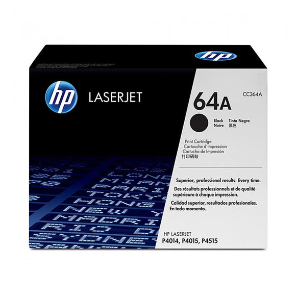 HP 64 Black Toner Cartridge CC364A CC364A at $262.79