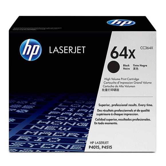 HP 64X Black Toner Cartridge CC364X CC364X at $461.31