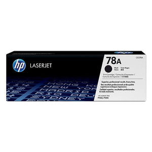 HP 78A Black Toner Cartridge CE278A CE278A at $124.02