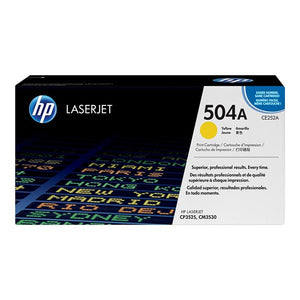 HP 504A Yellow Toner Cartridge CE252A CE252A at $400.16