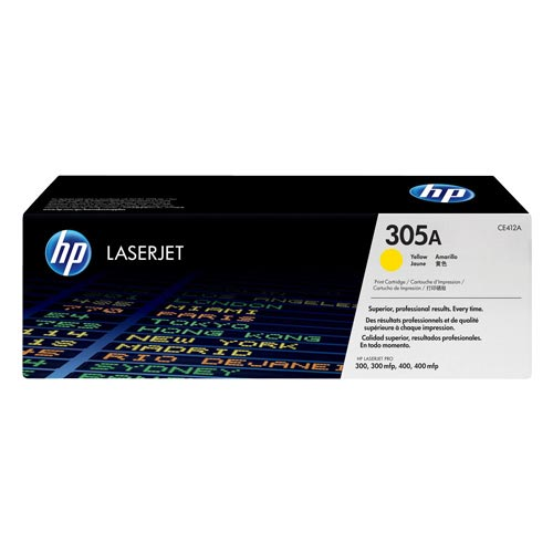 HP 305A Yellow Toner Cartridge CE412A CE412A at $184.58