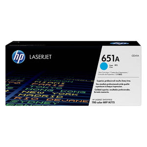 HP 651A Cyan Toner Cartridge CE341A CE341A at $646.41