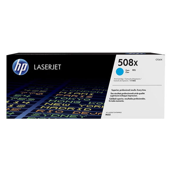 HP 508X Cyan Toner Cartridge CF361X