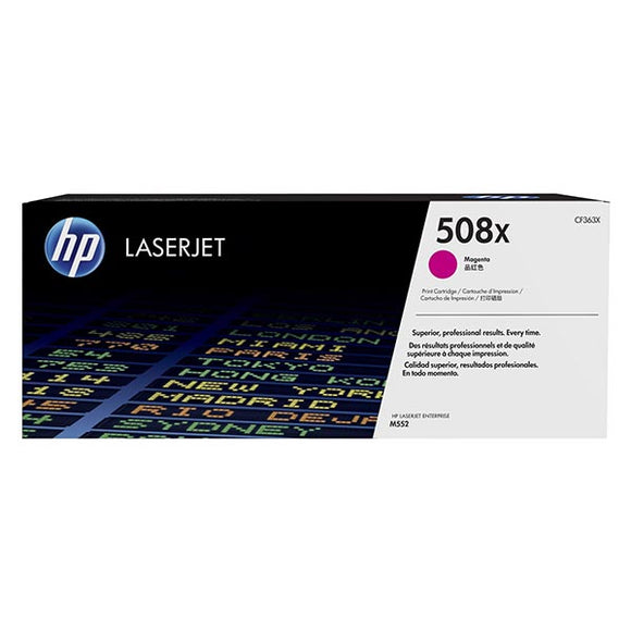 HP 508X Magenta Toner Cartridge CF363X