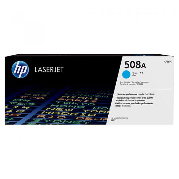 HP 508A Cyan Toner Cartridge CF361A