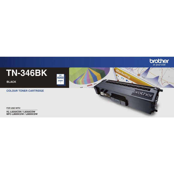 Brother TN-346 Black Toner Cartridge TN-346BK