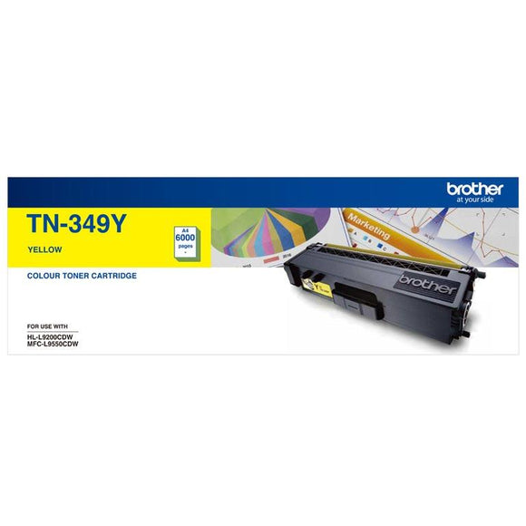 Brother TN-349 Yellow Toner Cartridge TN-349Y