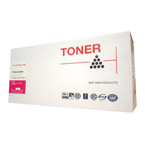 Generic Brother TN-240 Magenta Toner TN-240M TN240M at $49.50