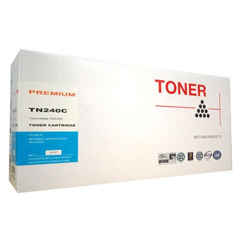 Generic Brother TN-240 Cyan Toner TN-240C