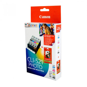 Canon CLI521 Ink Value Pack CLI521VP at $85.73