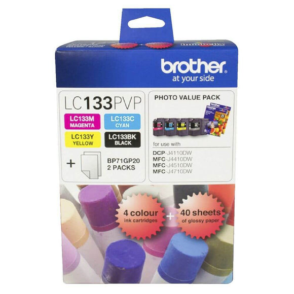 Brother LC-133 Photo Value Pack LC-133PVP