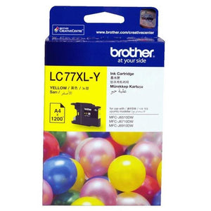 Brother LC-77XL Yellow Ink Cartridge LC-77XLY