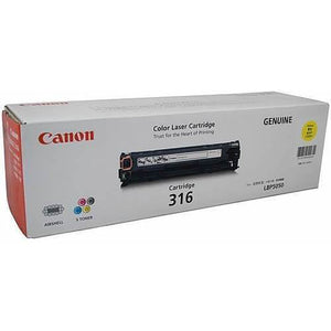 Canon CART316 Yellow Toner Cartridge