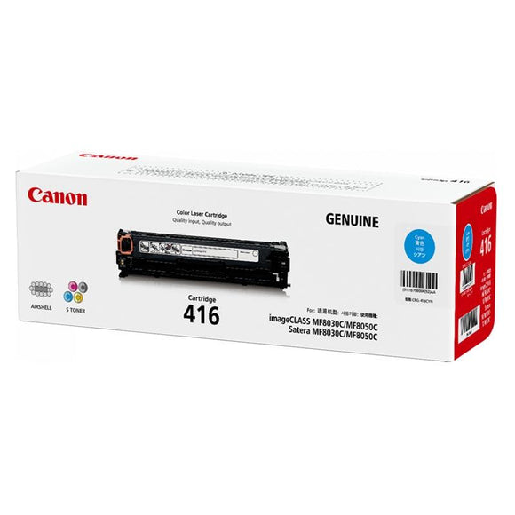 Canon CART416 Cyan Toner Cartridge
